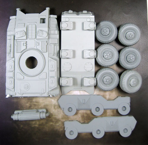 6x6 Rapid Assault Vehicle - Complete Kit