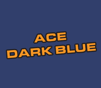 Acrylics: Ace Dark Blue