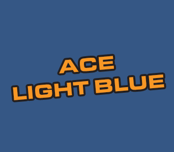 Acrylics: Ace Light Blue