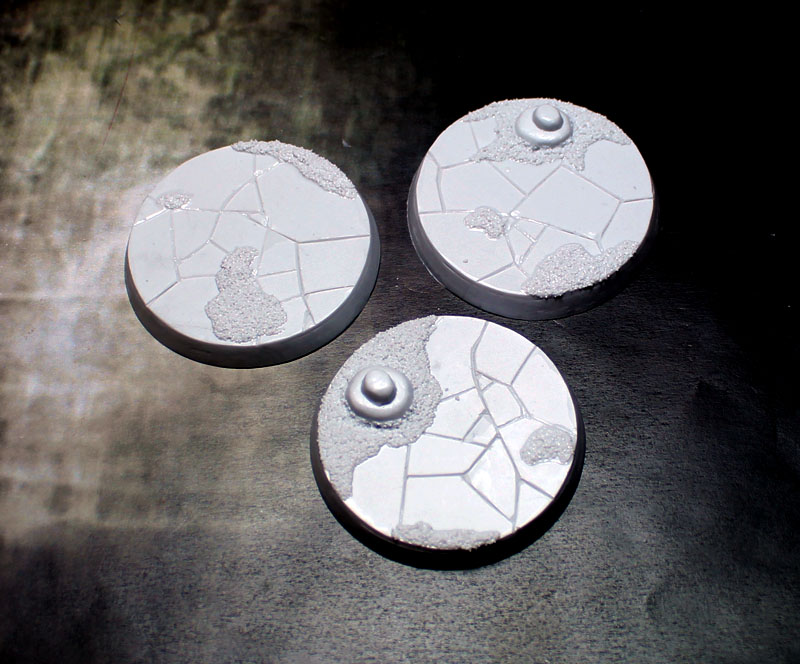 Beveled Bases: Ancient Sands 50mm
