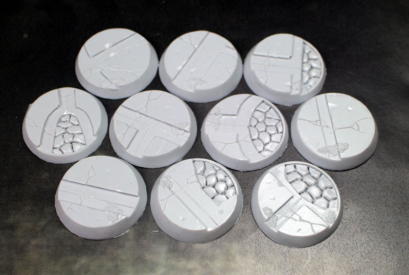 Beveled Bases: Alien Temple 32mm