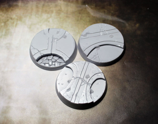 Beveled Bases: Alien Temple 50mm