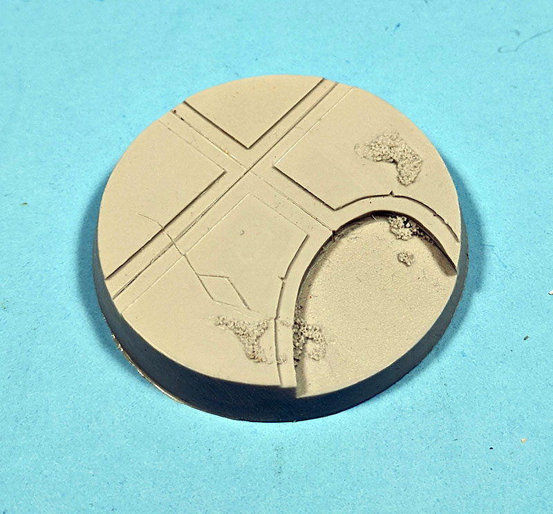 Beveled Bases: Alien Temple 55mm
