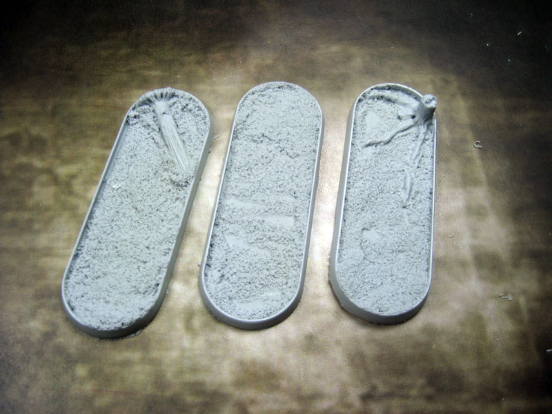 Beveled Bases: Blasted Wetlands 25x70mm