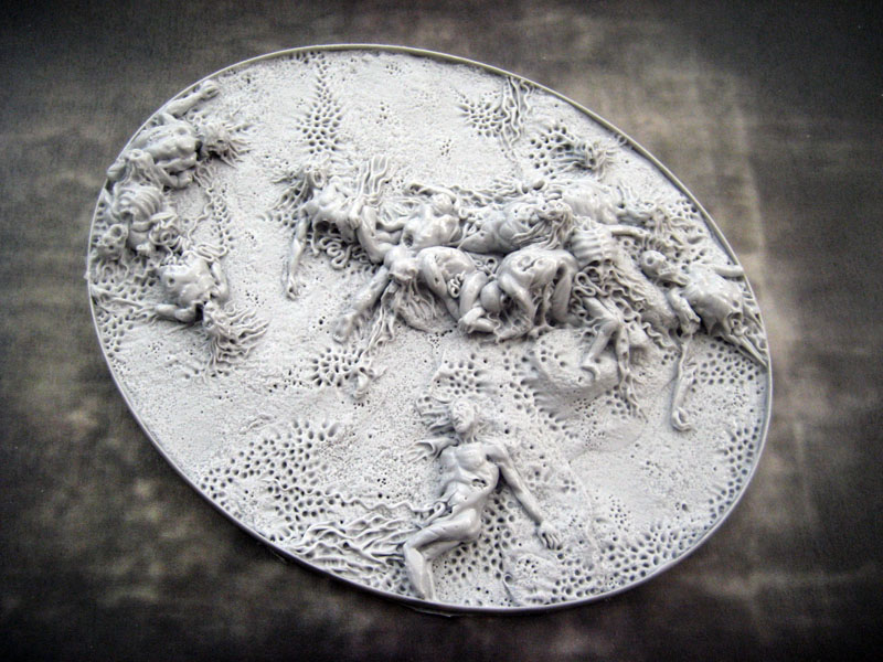 Beveled Bases: Corpse Fields 95x120mm