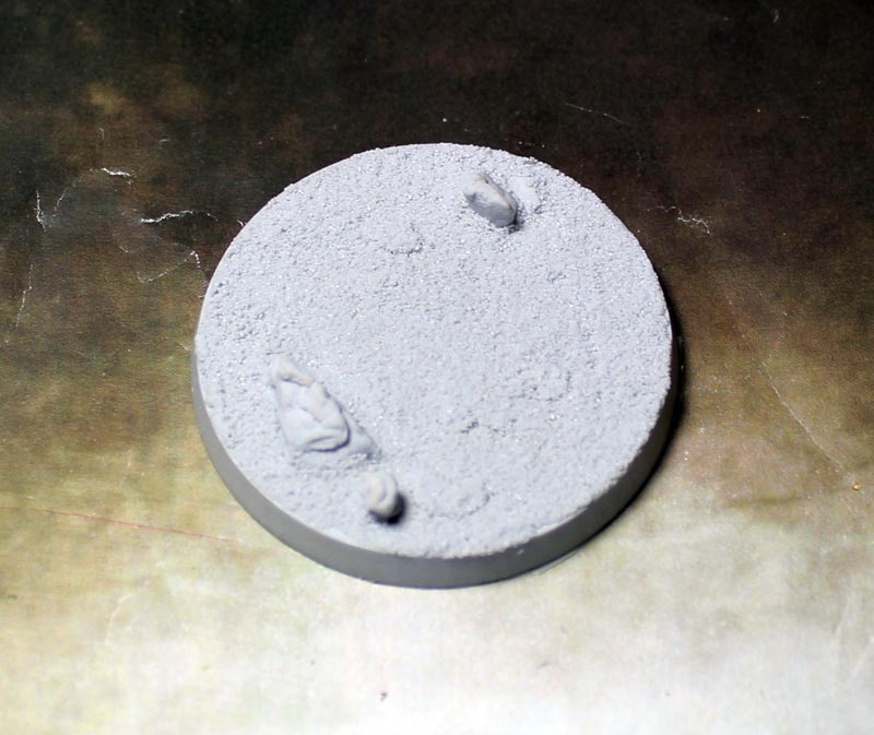 Beveled Bases: Desert Wasteland 55mm