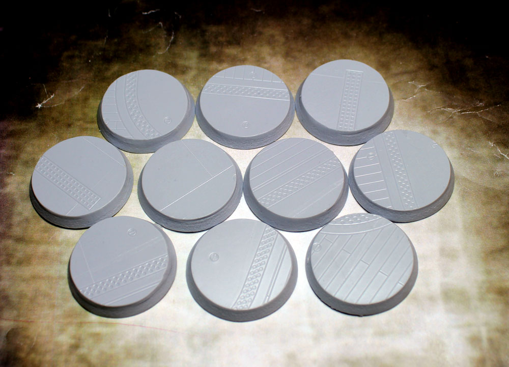 Beveled Bases: Flight Deck 32mm