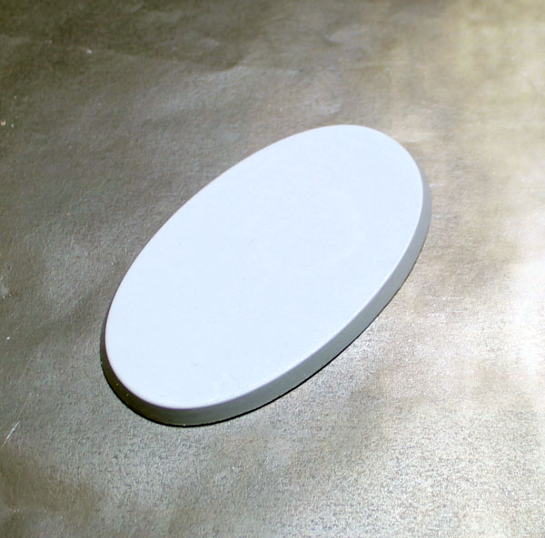 Beveled Bases: Solid Blank 60x35mm