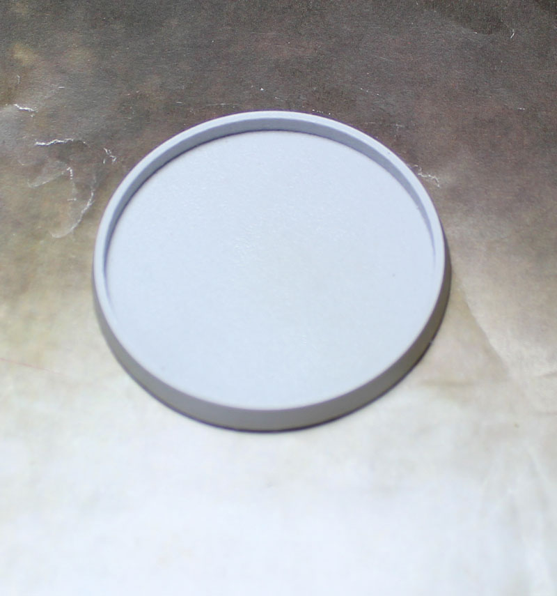 Beveled Bases: Hollow Blank 55mm