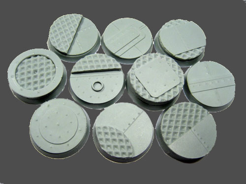 Beveled Bases: Iron Deck 25mm