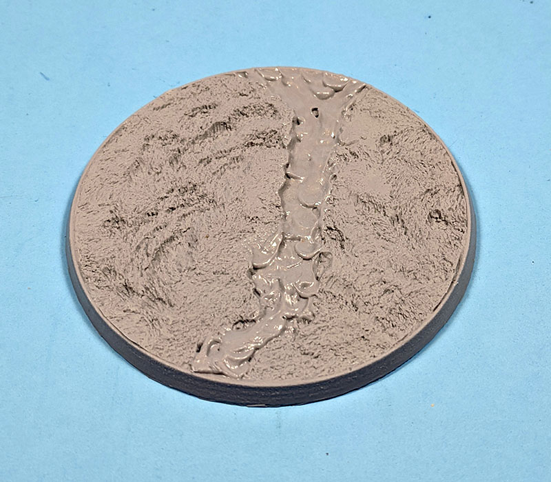 Beveled Bases: Lava Flow 100mm