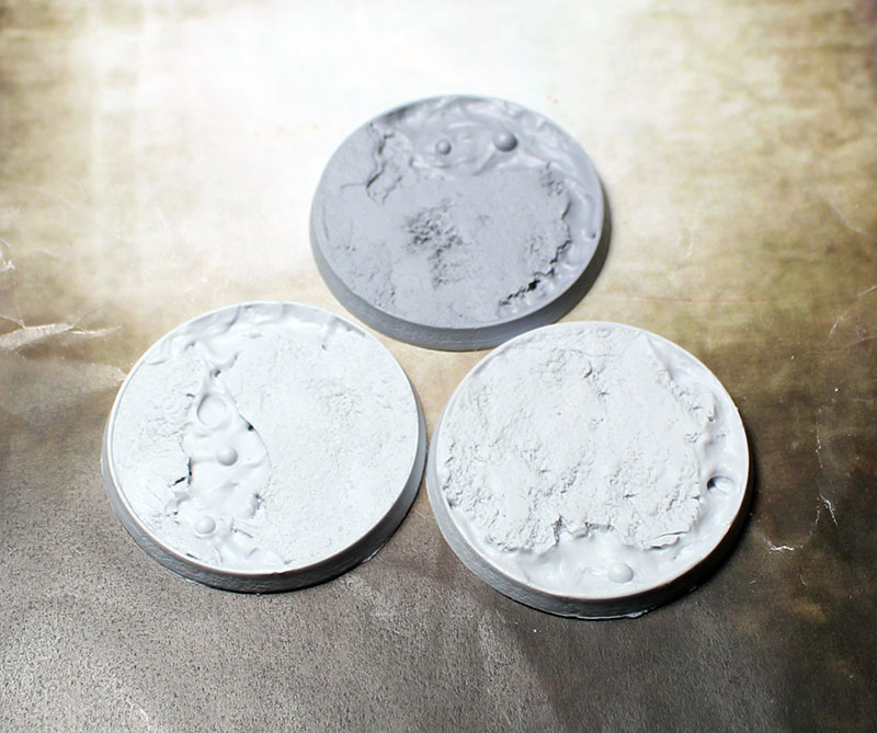 Beveled Bases: Lava Flow 50mm