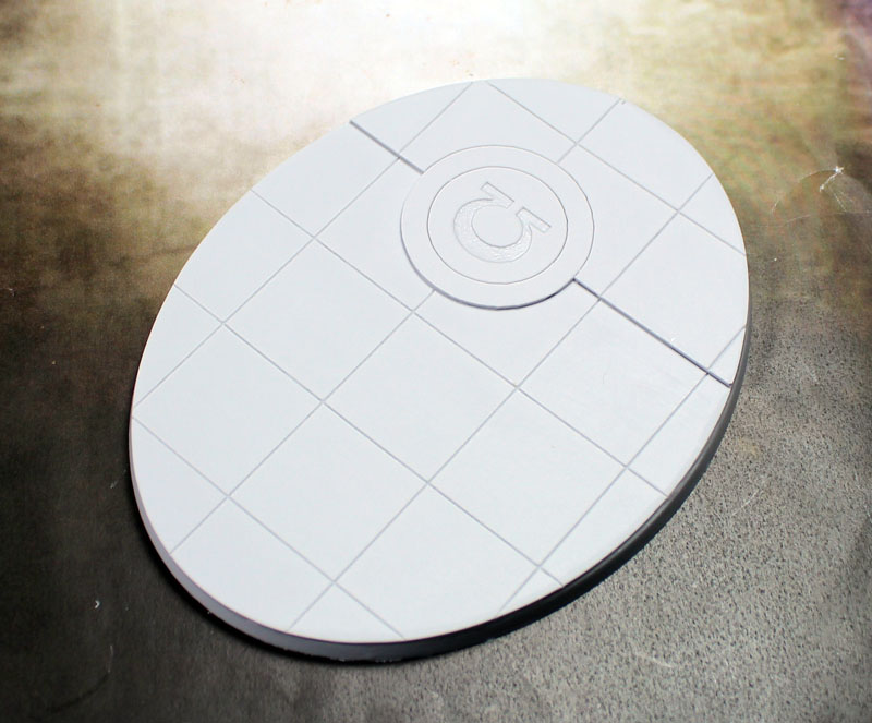 Beveled Bases: Omega Base 95x120mm