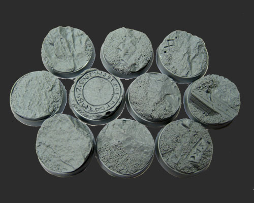 Beveled Bases: Runic Mountain 02 25mm