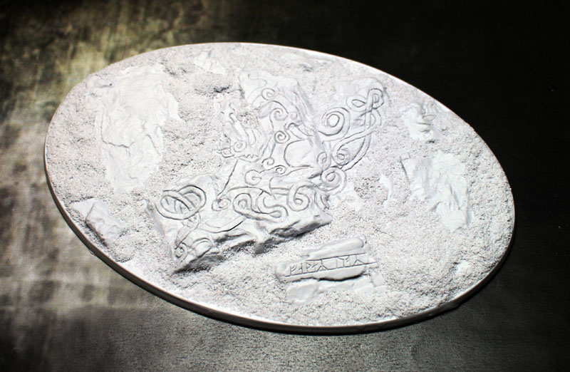 Beveled Bases: Runic Mountain 168x106mm