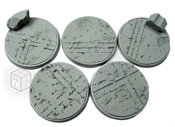 Beveled Bases: Ruined Temple 40mm