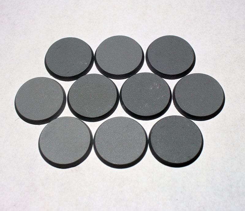Beveled Bases: Solid Blank 32mm