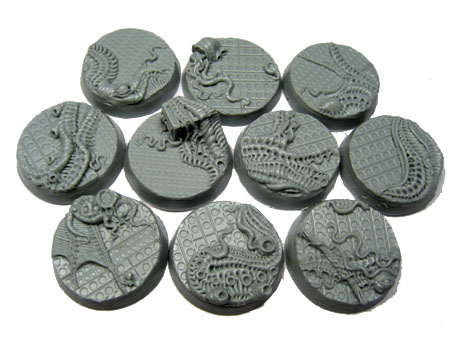 Beveled Bases: Steel Invasion 25mm
