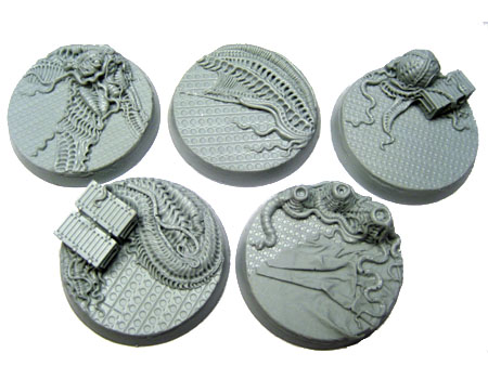 Beveled Bases: Steel Invasion 40mm