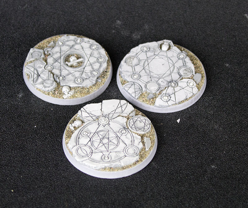 Beveled Edge Bases: 50mm Shattered Ritual