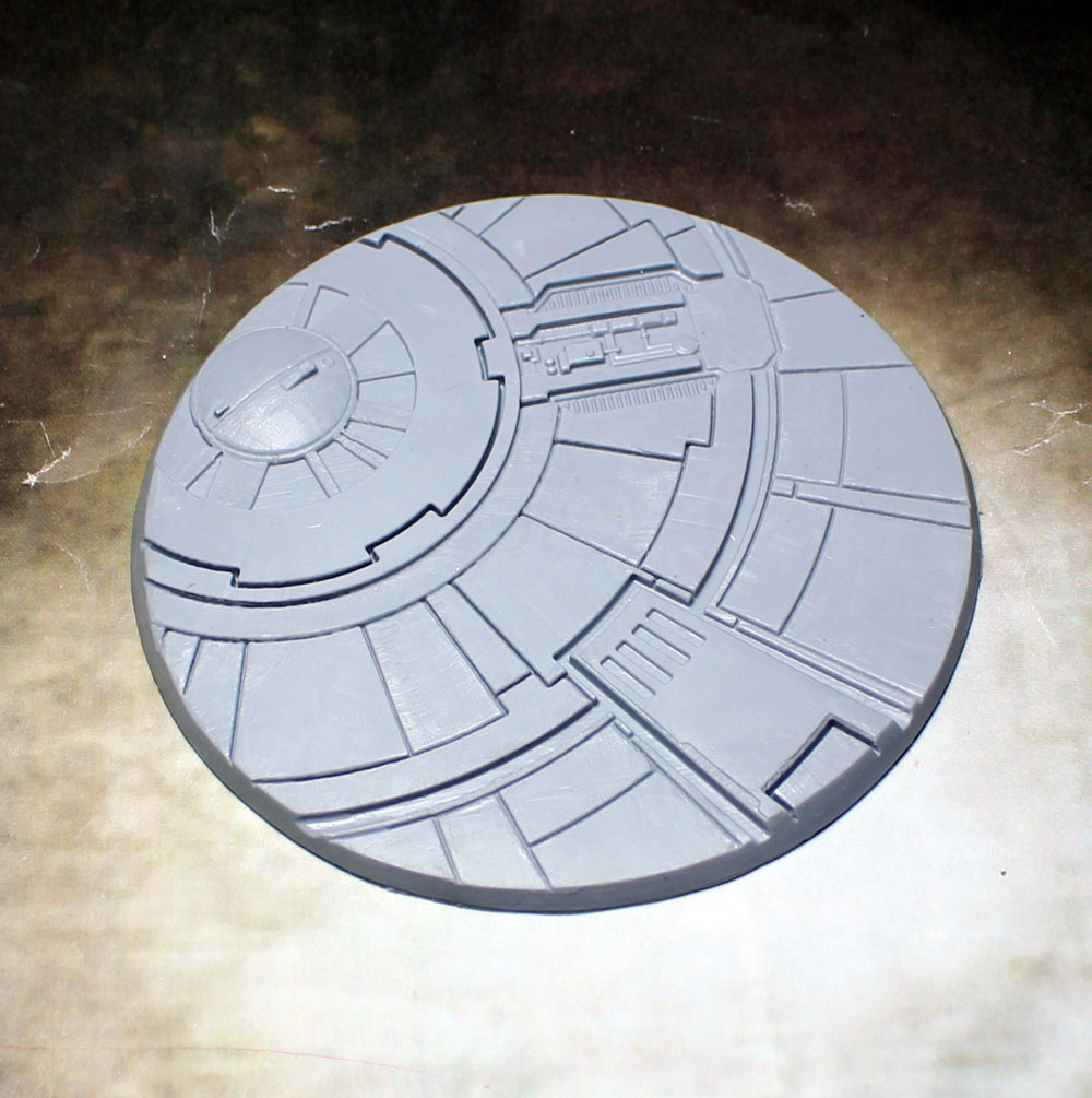 "Beveled Edge Bases: 100mm ""Tau Ceti"""