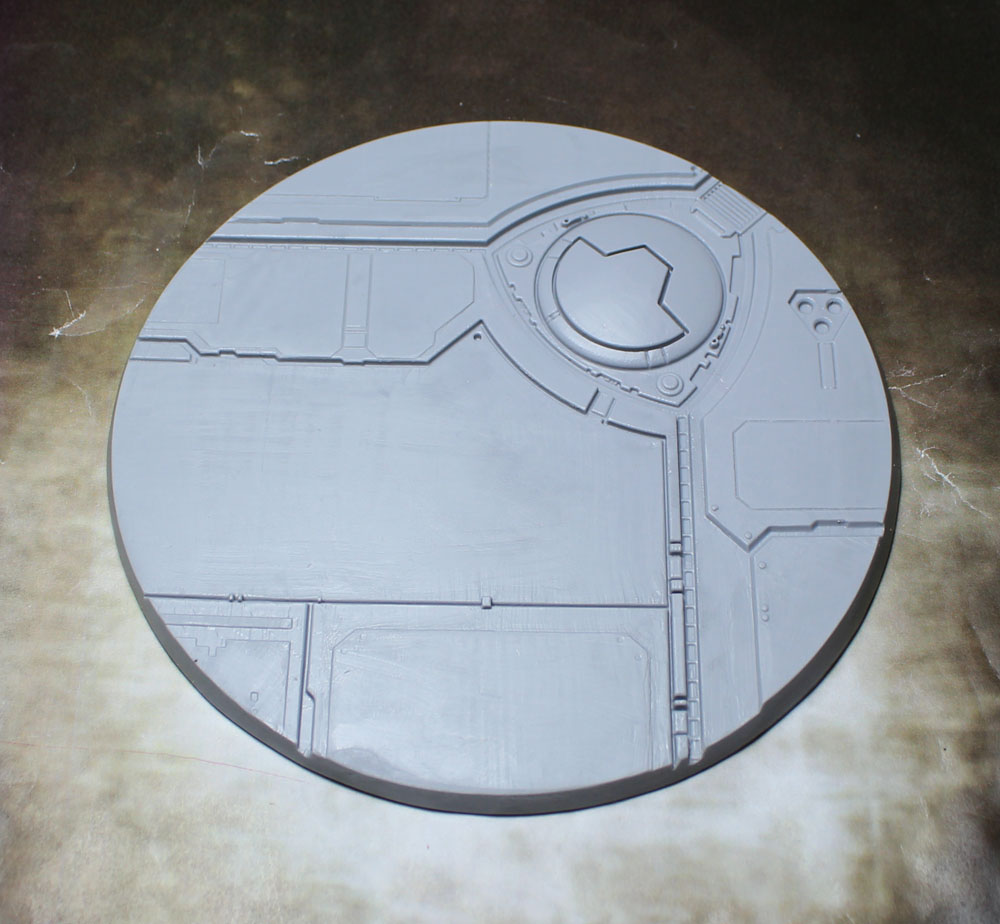 "Beveled Edge Bases: 130mm ""Tau Ceti"""