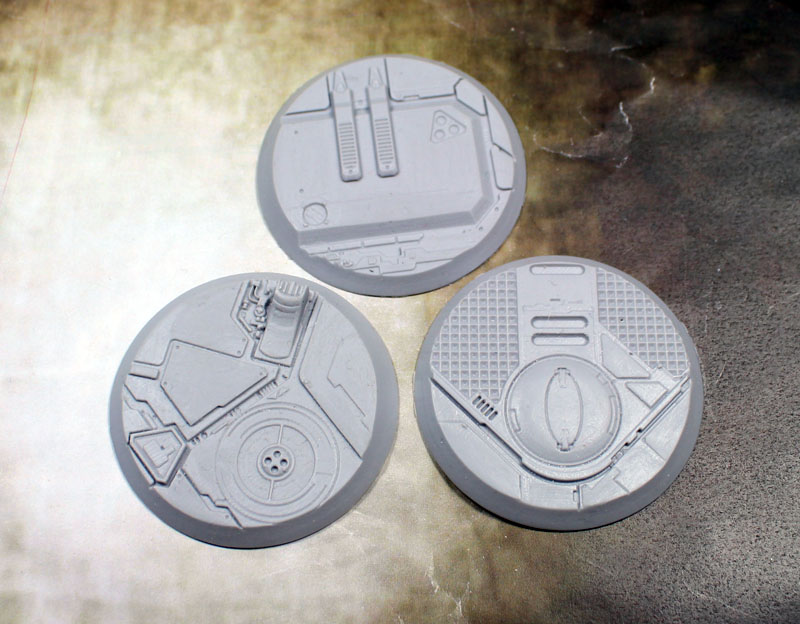 "Beveled Edge Bases: 50mm ""Tau Ceti"""