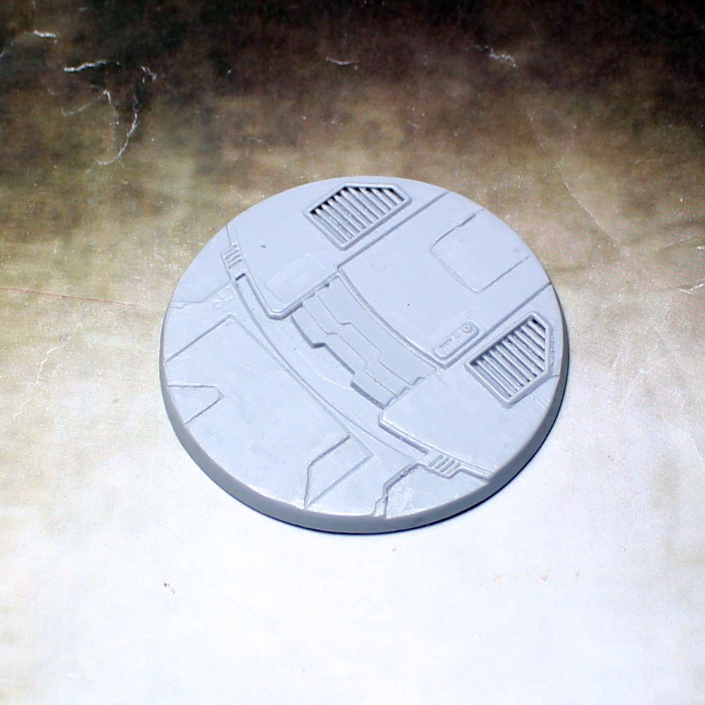 "Beveled Edge Bases: 55mm ""Tau Ceti"""