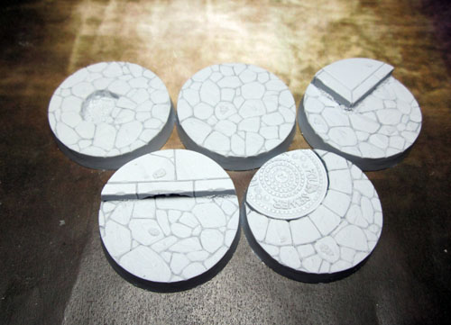 Beveled Bases: Town Square 40mm