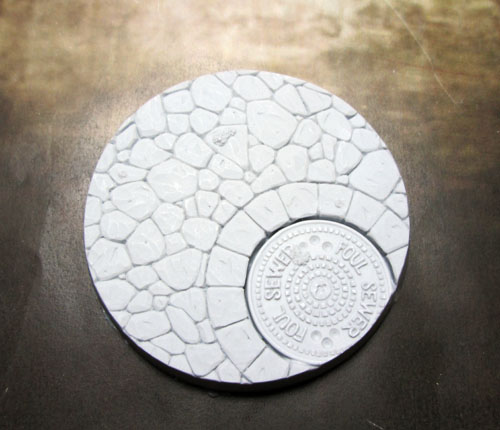 Beveled Bases: Town Square 60mm Base 02