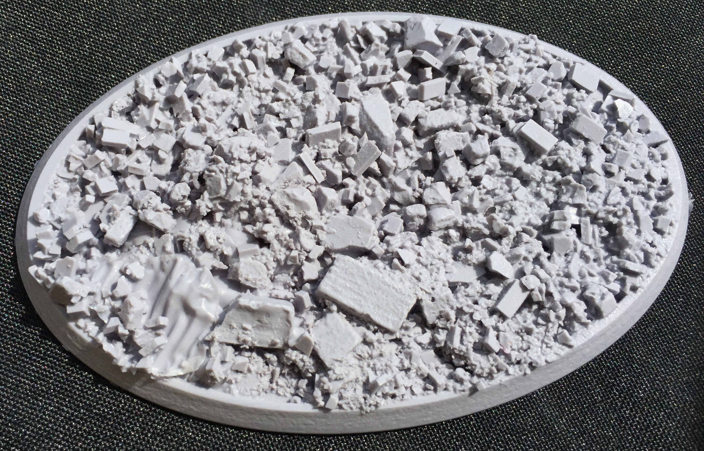 Beveled Bases: Urban Rubble 70mmx105mm