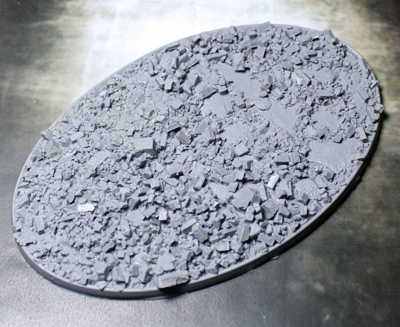 Beveled Bases: Urban Rubble 105mmx170