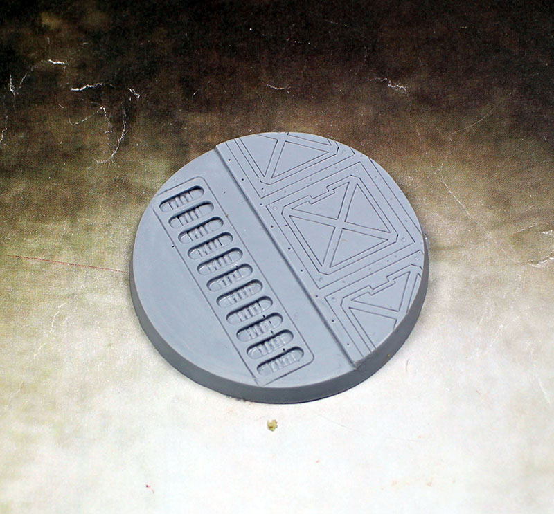 Beveled Edge Bases: 55mm Warp Core