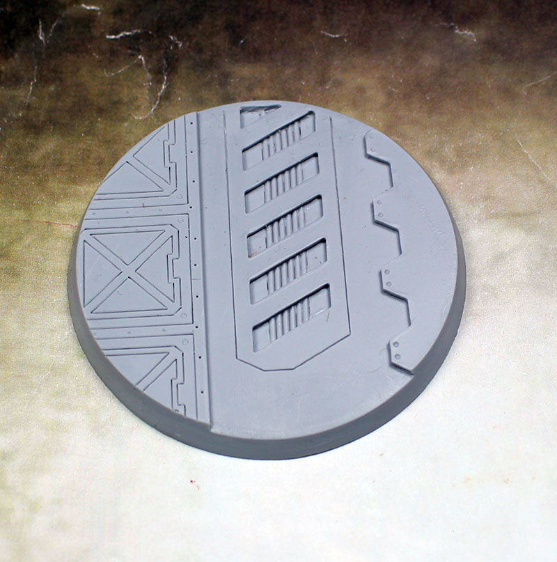 Beveled Edge Bases: Warp Core 01 60mm
