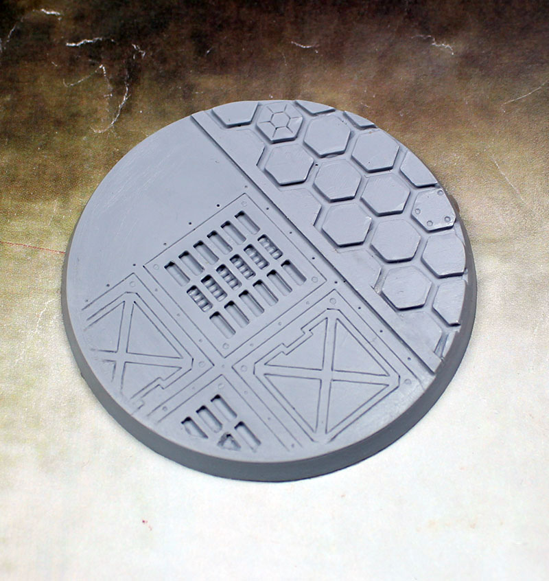 Beveled Edge Bases: 60mm Warp Core 02