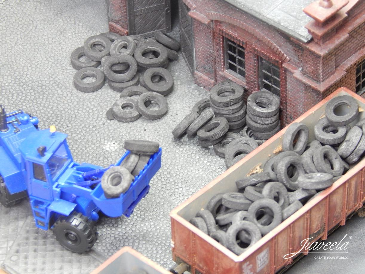 1/87 old tyres truck, 20g - Click Image to Close