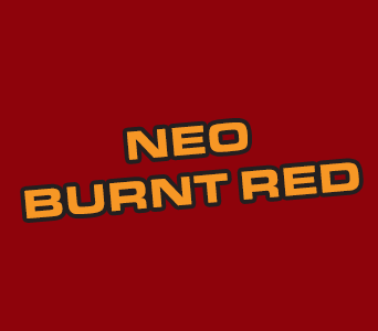 Acrylics: Neo Burnt Red