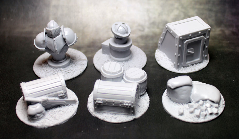 Objective Markers: 40mm Ironsides