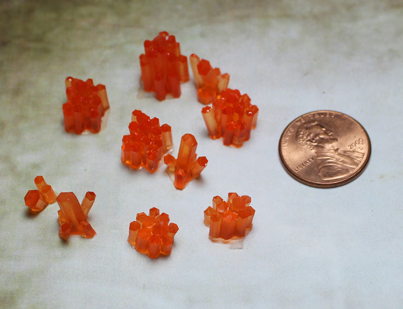 Crystals: Chaos Pack - ORANGE (10)