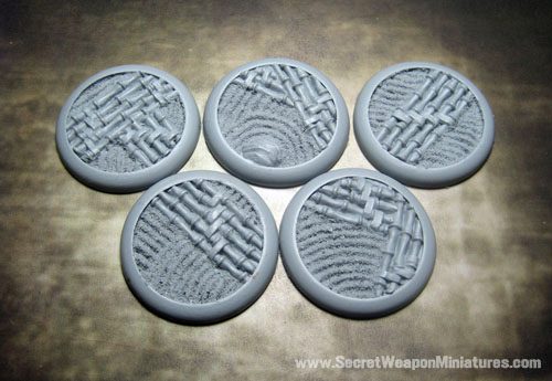 Round Lip Bases: Asian Garden 40mm