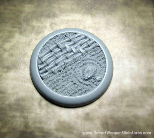 Round Lip Bases: Asian Garden 02 50mm