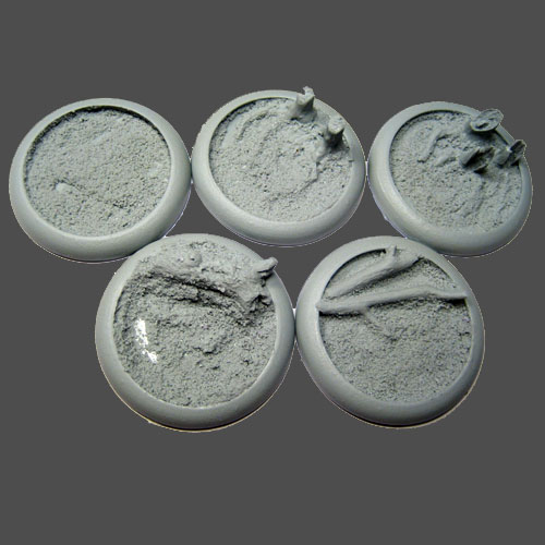 Round Lip Bases: Blasted Wetlands 40mm