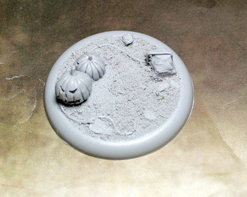 Round Lip Bases: Field of Screams 02 50mm