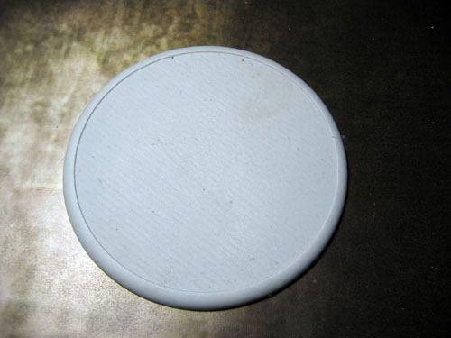 Round Lip Bases: Solid Blank 100mm