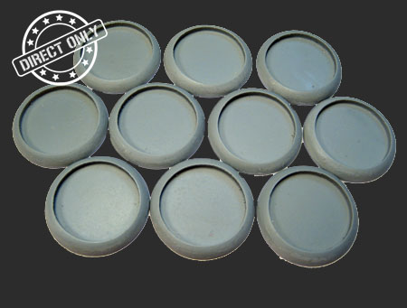 Round Lip Bases: Hollow Blank 30mm