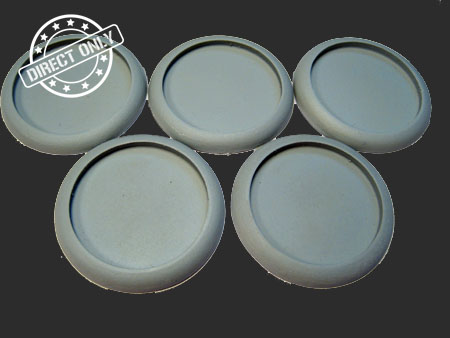 Round Lip Bases: Hollow Blank 40mm