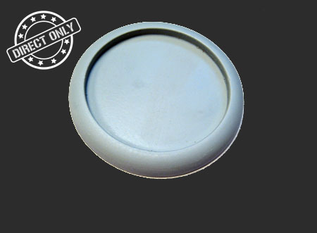 Round Lip Bases: Hollow Blank 50mm