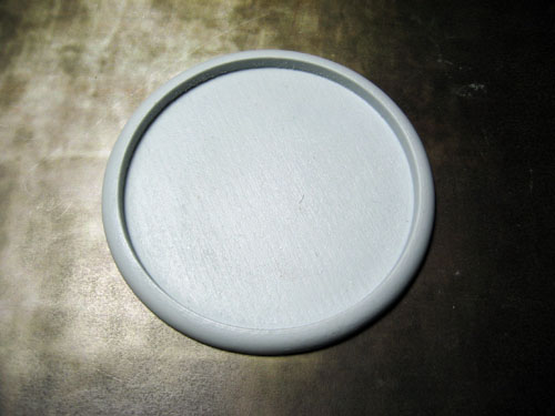 Round Lip Bases: Hollow Blank 80mm