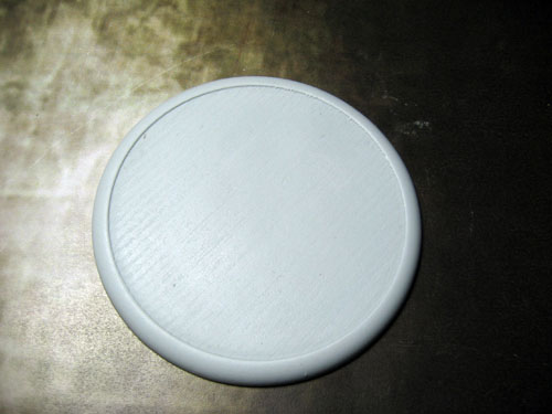 Round Lip Bases: Solid Blank 80mm