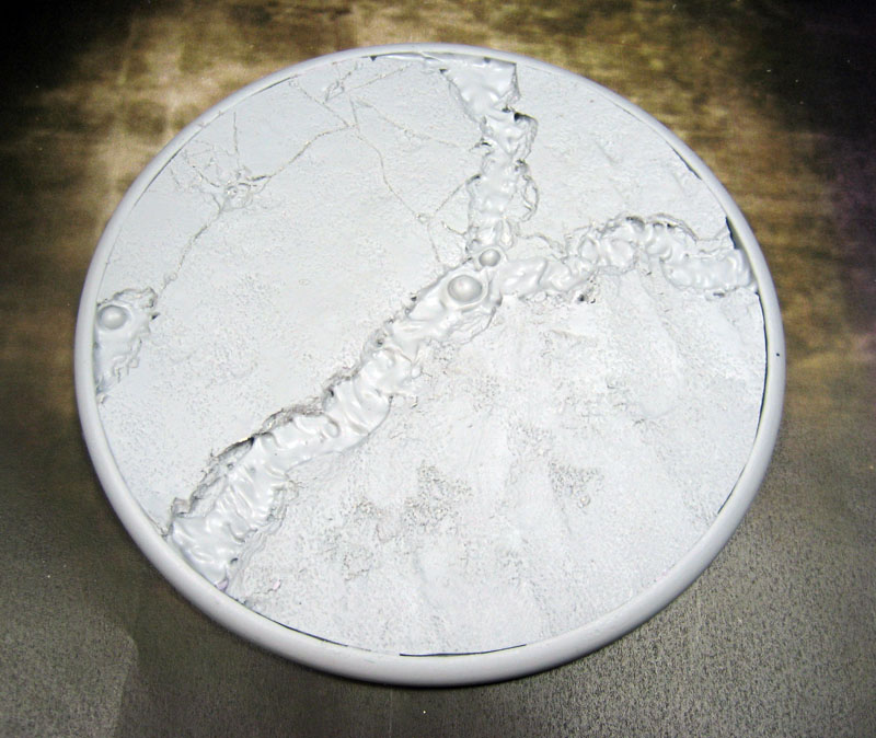 Round Lip Bases: Lava Flow 120mm